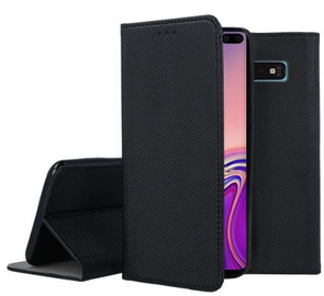 Mocco Smart Magnet Book Case For Samsung Galaxy S10e Black