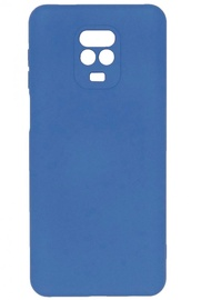 Evelatus Soft Touch Back Case For Xiaomi Redmi Note 9 Blue