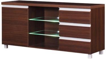 ТВ стол Bodzio Aga AG16 Brown, 1380x425x660 мм