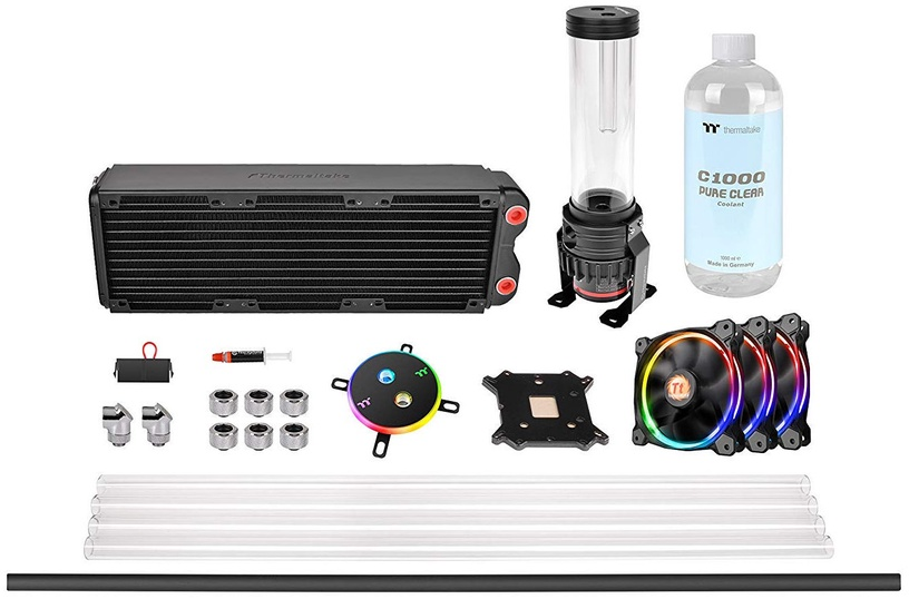 Thermaltake Pacific M360 D5 Hard Tube Water Cooling Kit