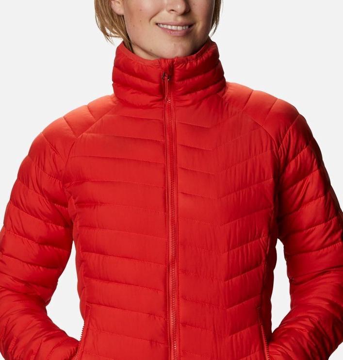 Columbia Powder Lite Womens Jacket 1699061843 Bold Orange M