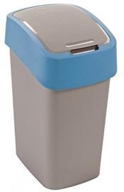 Мусорное ведро Curver FlipBin Silver/Blue, 25 л