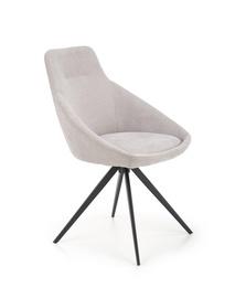Ēdamistabas krēsls Halmar K431, gaiši pelēka