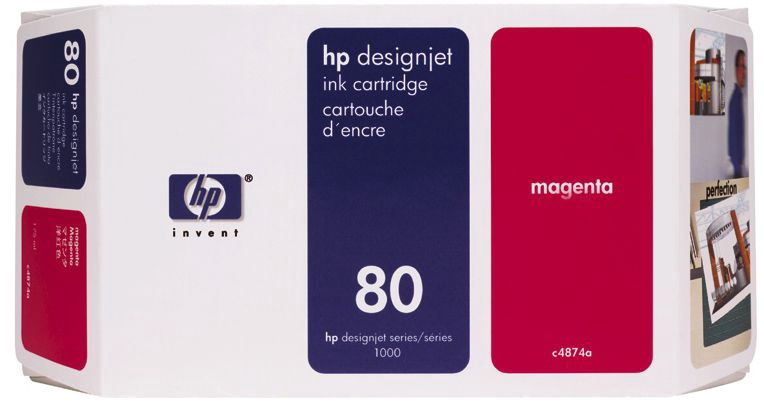 HP NO 80 Magenta L