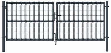 Vārti Garden Center Gate RAL7016 4000x1530mm Gray