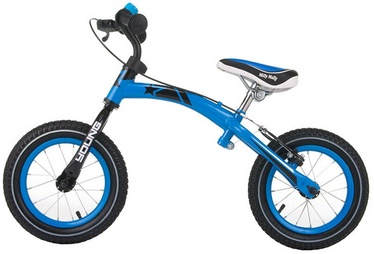 Velosipēds Milly Mally Young Balance Bike Blue 0389