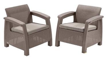 Dārza krēsls Keter Corfu Duo Beige