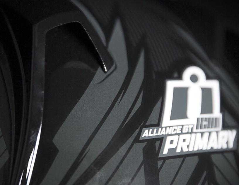 Icon Helmet Alliance GT Primary Black L