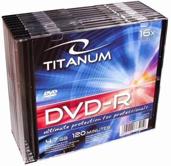 Titanum DVD-R 4.7GB 16x 10pcs 1284