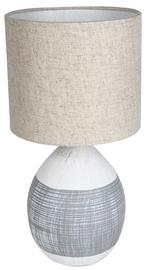 Gaismeklis Verners Helga Desk Lamp 60W E27 Beige/Grey