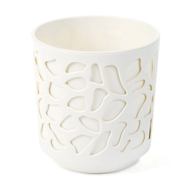 SN Duet Indoor Plant Pot 19.5x20cm White