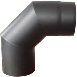 Jeremias Chimney Elbow Pipe Black 90º 120mm
