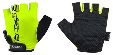 Force Kid Short Gloves Electro Yellow M