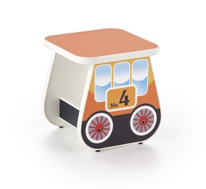 Bērnu krēsls Halmar Lokomo Orange