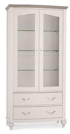 Шкаф-витрина MN Montreux 6290-28-2 White, 100x46.5x200.5 см