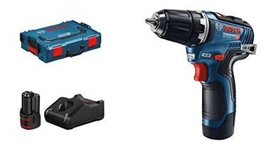 Bosch GSR 12V-35 Cordless Drill L-BOXX 12V 2x3Ah