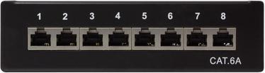 Коммутационная панель LogiLink Patch Panel Desktop Cat.6A STP Black