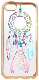 Beeyo Glamour Series Dreamcatcher Back Case For Sony Xperia XA Transparent/Gold