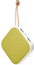 Dudao Dual USB Portable Power Bank 10000mAh Green