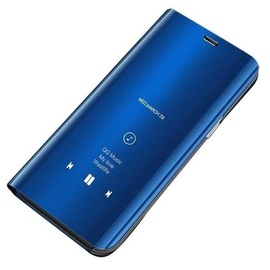 Hurtel Clear View Case For Huawei Y7 2019/Y7 Prime 2019 Blue
