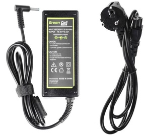 Green Cell Laptop Power Adapter 19.5V 65W 3.33A