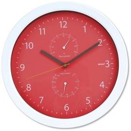 Platinet Summer Wall Clock 42574 Red