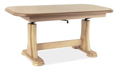 Pusdienu galds Signal Meble Artur Sonoma Oak, 1270 - 1640x670x600 - 750 mm