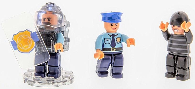 Конструктор Laser Pegs Mobile Police Unit 18602 (поврежденная упаковка)