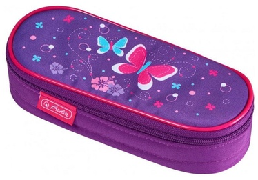 Herlitz Pencil Pouch Oval Butterfly