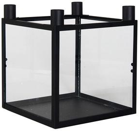 Подсвечник Polar Lanterns, прозрачный/черный