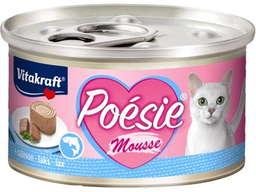 Влажный корм для кошек Vitakraft Poesie Mousse, консервы, 0.085 кг