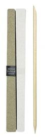 Набор для маникюра и педикюра QVS 10 Emery Boards Dual Sided Medium & Fine, 145 мм