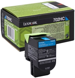 Lexmark 702HC Toner Cartridge Cyan