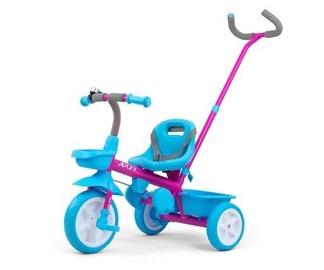 Трехколесный велосипед Milly Mally Axel, синий/розовый