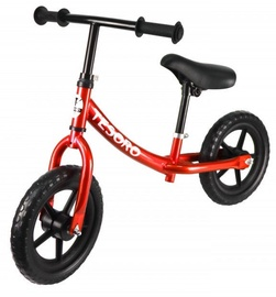 Tesoro PL-8 Balance Bike Red Metallic