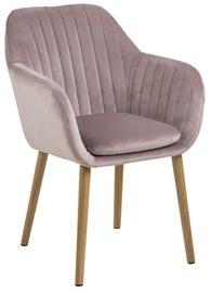 Ēdamistabas krēsls Home4you Emilia AC74716 Vanilla, 1 gab.