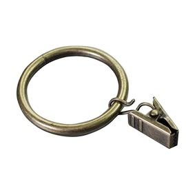 Кольцо Domoletti, золотой, 16 мм, 10 шт.