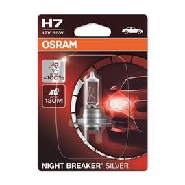 Auto spuldze Osram Night Breaker Silver H7 55W 12V