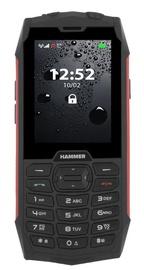 Mobilais telefons MyPhone Hammer 4, melna/sarkana, 64MB/64MB