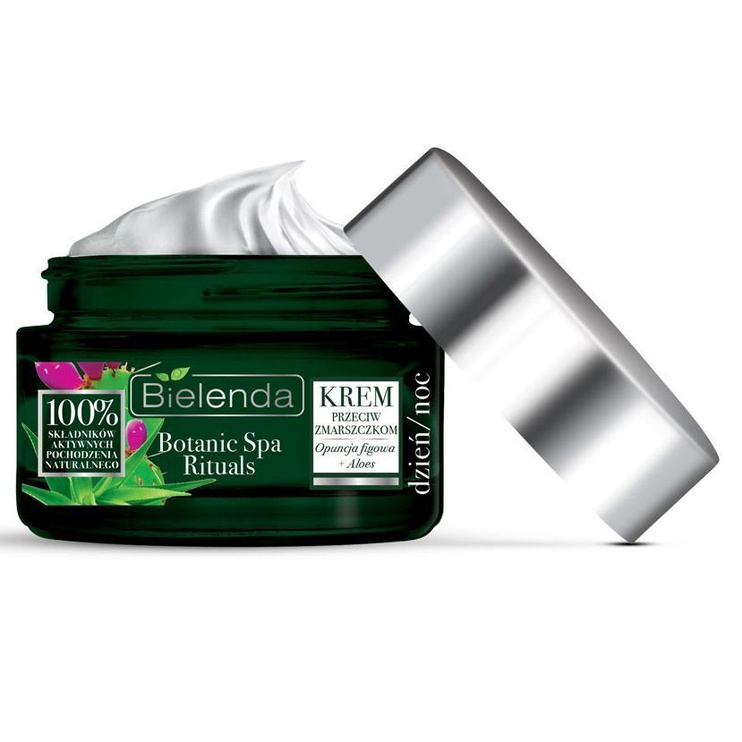 Крем для лица Bielenda Botanic Spa Rituals Indian Fig Opuntia + Aloe Anti Wrinkle Face Cream, 50 мл