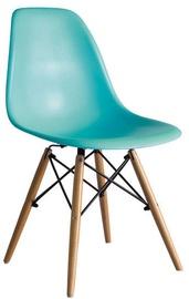 Ēdamistabas krēsls Signal Meble Enzo Sea Blue