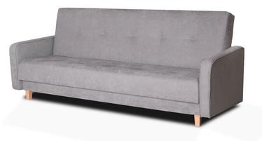 Dīvāngulta Platan Adam Grey, 210 x 85 x 90 cm