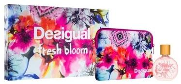 Desigual Fresh Bloom 100ml EDT + Cosmetic Bag