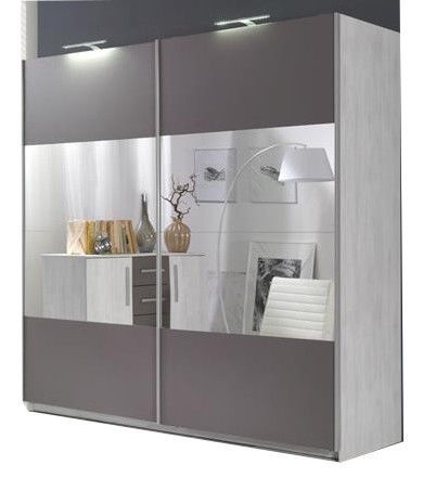 Maridex Dione 4L Wardrobe Pine Grey