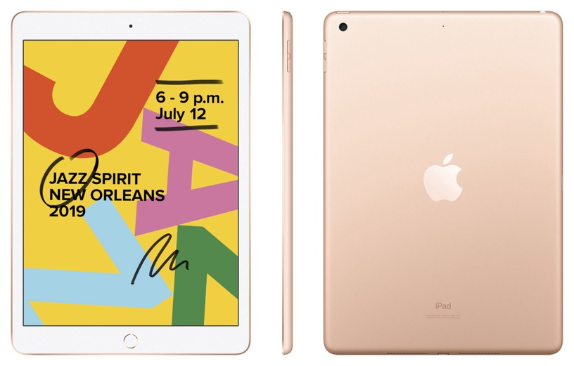Apple iPad 7th Gen 10.2 32GB WiFi Gold