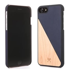 Woodcessories EcoSplit Back Case For Apple iPhone 6/6s Maple Blue
