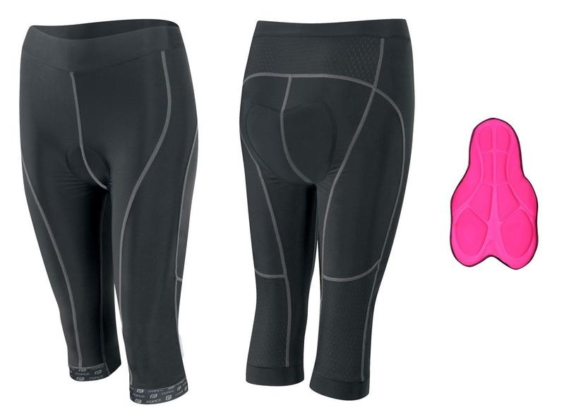 Force Lady Bike 3/4 Shorts Black S