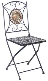 Dārza krēsls Home4you Mosaic, melna