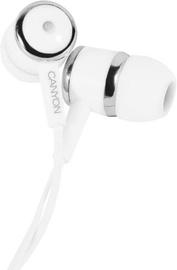 Наушники Canyon CNE-CEPM01W In-Ear White