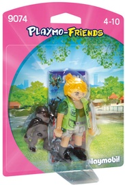Playmobil Friends Zookeeper With Baby Gorilla 9074